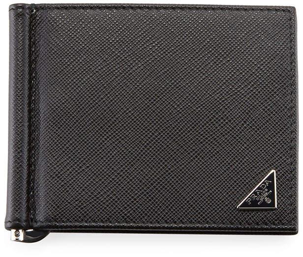 ef63b560ca5c Prada Money Clip Wallet - ShopStyle