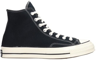 Converse Chuck 70 Sneakers In Black Canvas