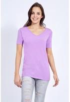 Select Fashion Fashion Women's V Neck T-Shirt Tops - size 8