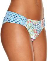 Profile Blush by Gottex Peacock Side Tab Bikini Bottom