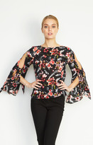 Nicole Miller Macoul Almond Blossom Blouse