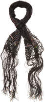 """Valentino Women's Beaded Lace Long Scarf, 72"""" x 14"""""""
