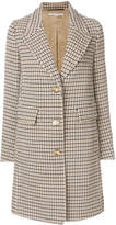 Stella McCartney checked coat