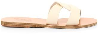Ancient Greek Sandals Desmos Flat Leather Sandals