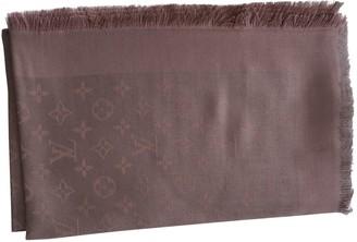 Louis Vuitton ChAle Monogram Pink Silk Scarves