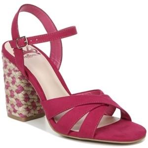 Fergalicious Fiance Block Heel Dress Sandals Women's Shoes
