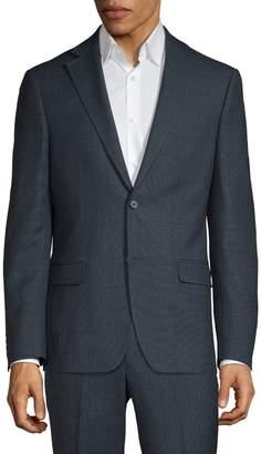 DKNY Slim Fit Wool Suit Jacket