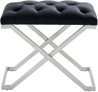 Worldwide Homefurnishings Worldwide Home Furnishings Tufted Velvet Bench
