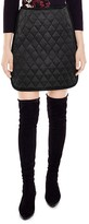 Sandro Amy Quilted Skirt