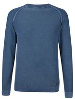 Burton Burton Threadbare Navy Crew Neck Jumper*