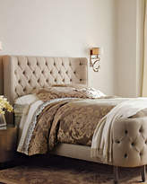 Haute House Linen Larkspur Queen Bed