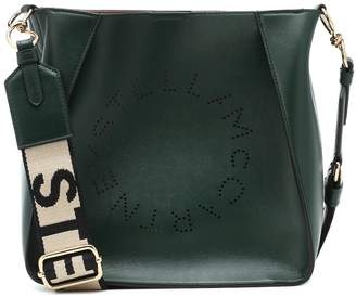 Stella McCartney Stella Logo faux leather shoulder bag