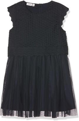Name It Girl's Nmffakora Capsl Dress Wl