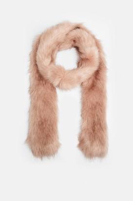 Coast Faux Fur Long Scarf