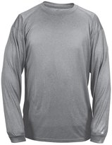 Badger 4304 Men's Long-Sleeved Pro Heather Tee