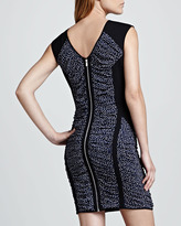 Rebecca Minkoff Madison Dotted Fitted Dress