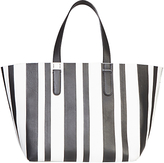 Gerard Darel Leather Le Simple Two Bag Shopper Bag, Black
