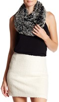 Free Press Tipped Faux Fur Infinity Scarf