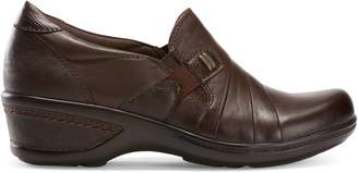 Planet By Earth Fay Leather Clogs