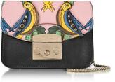 Furla Onyx Metropolis Mini Crossbody Bag w/Detachable Cocorita Flap