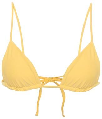 JADE SWIM Via triangle bikini top