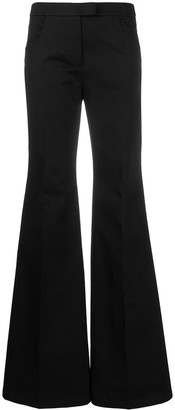 Françoise Mid-Rise Flared Trousers
