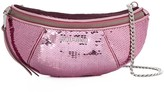 Miu Miu sequinned leather belt bag