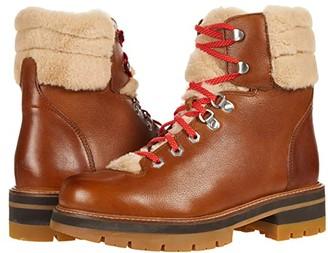 Clarks Orianna Hiker (Dark Tan Leather) Women's Shoes
