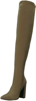 Qupid Women's SIGNAL-20 Over The Over The Knee Boot