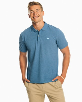 Southern Tide Skipjack Heathered Polo Shirt
