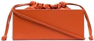 Studio Amelia Box leather shoulder bag