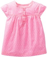 Carter's Printed Top (Baby) - Pink/White-3 Months