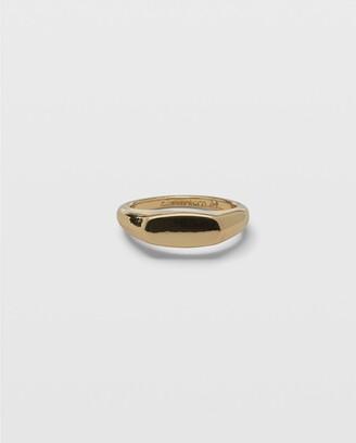 Club Monaco Slim Signet Ring