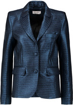 Carven Metallic jacquard blazer
