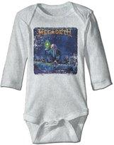 Fdeasd Baby Boys Girls Megadeth Romper Jumpsuit