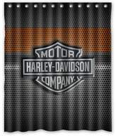 "Shower Curtains Fashionable Bathroom Collection-Custom harley davidson Shower Curtain Bath Decor Curtain 60 "" x 72 """