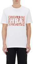 Hood by Air Men's Ground Beef-Print Cotton Jersey T-Shirt-WHITE
