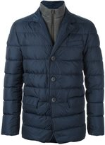Herno button up padded jacket