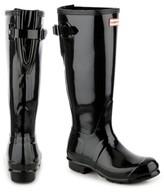 Hunter Tall Gloss Back Adjustable Rain Boot