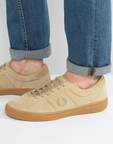 Fred Perry Authentic Suede Trainers