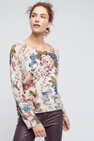 Angel Of The North Winter Bouquet Pullover