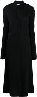 Jil Sander Belted Shirt Dress