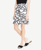 Ann Taylor Petite Leafed Full Skirt