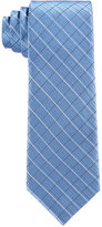 Calvin Klein Boys' Etched-Grid Tie