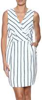 Adelyn Rae Striped Sheath Dress