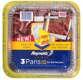 Reynolds Bakeware Pans Non-Stick with Lids 3 ct
