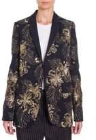 Stella McCartney Embroidered Boyfriend Blazer