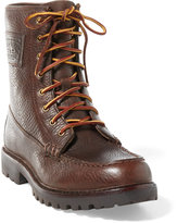 Ralph Lauren Flaxby Tumbled Leather Boot