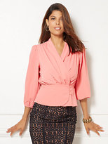 New York & Co. Eva Mendes Collection - Charlotte Blouse - Solid