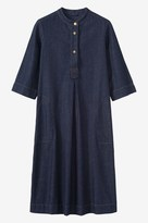 Toast Denim Twill Tunic Dress
